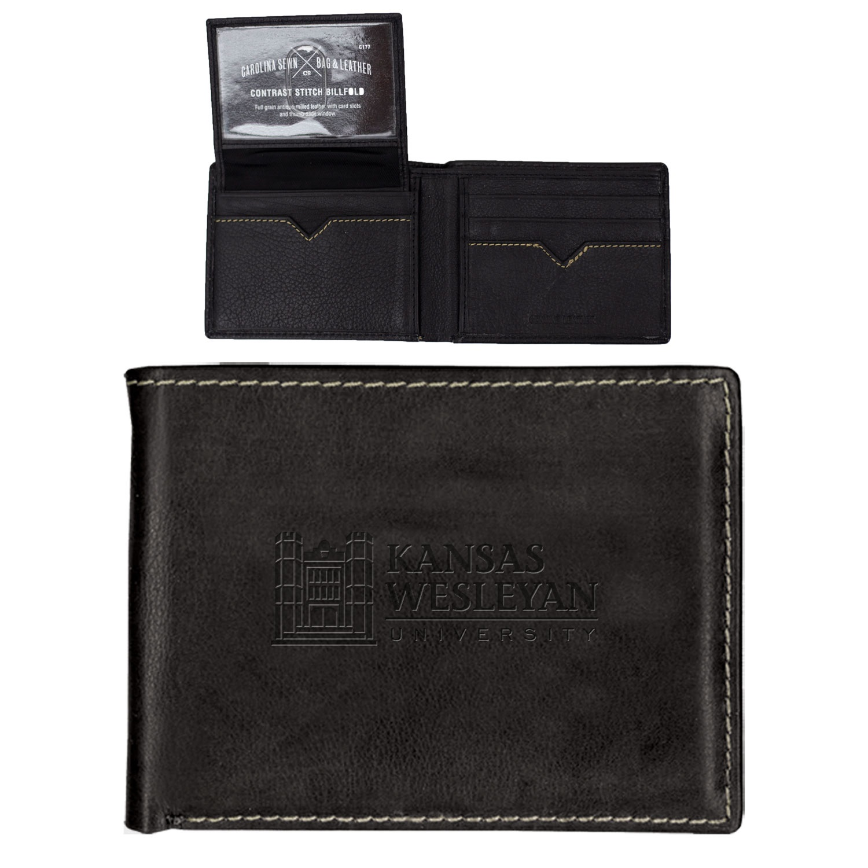 KWU Black/Brown Billfold Wallet