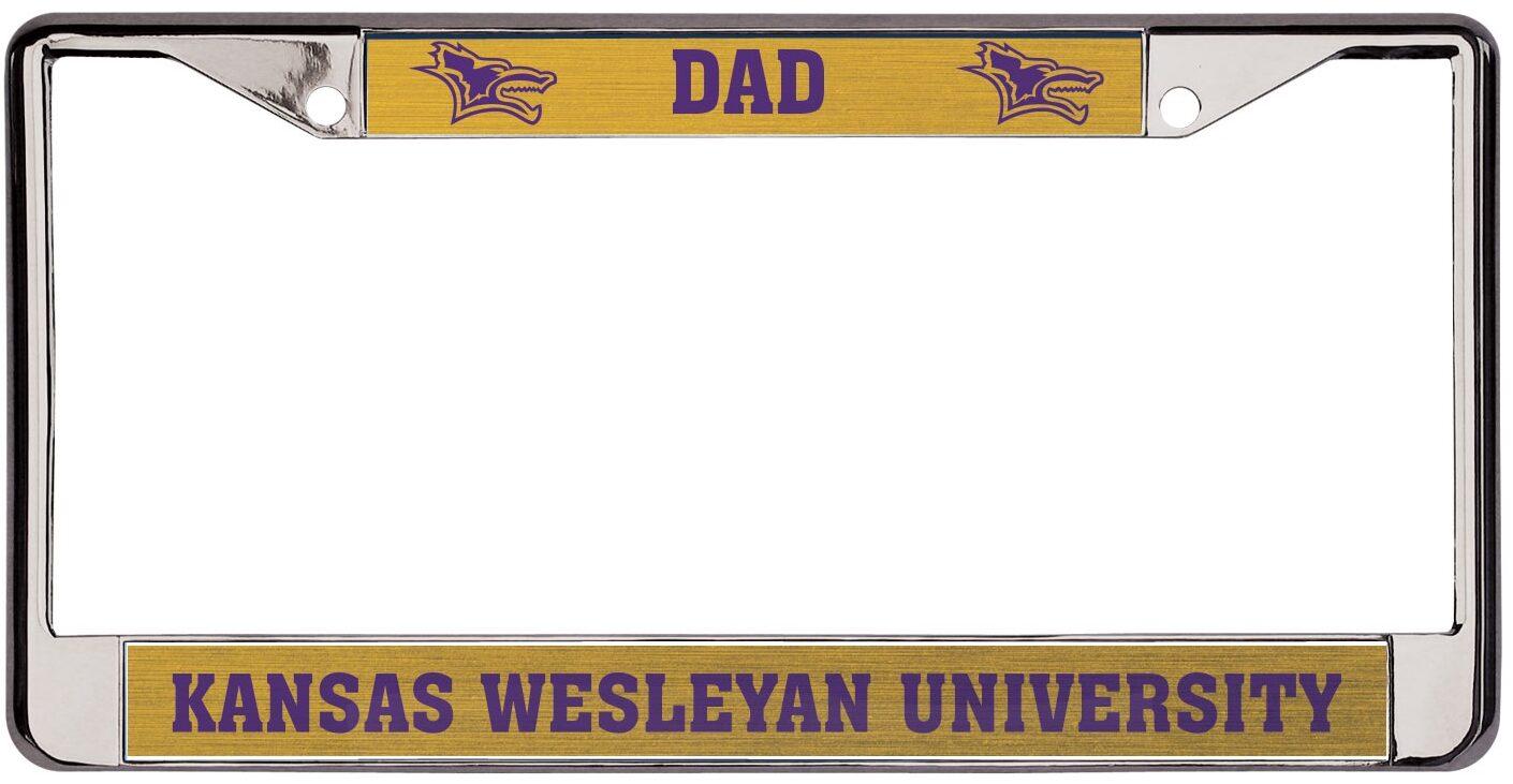 Dad License Frame
