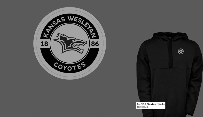 Kansas Wesleyan Coyotes Newton Hoodie