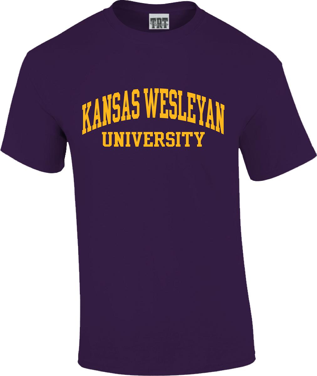 Kansas Wesleyan University T-Shirt Bundle
