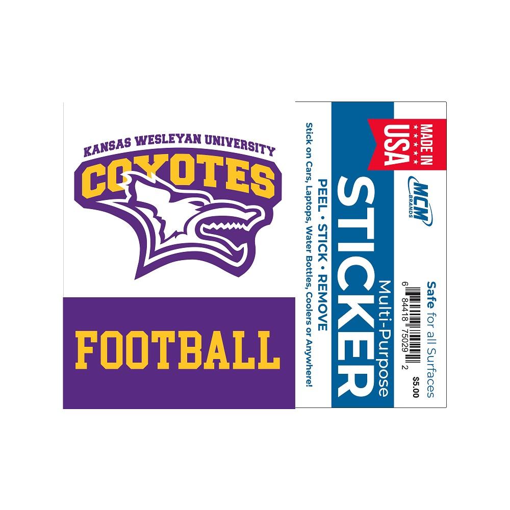 Coyotes Sport Sticker