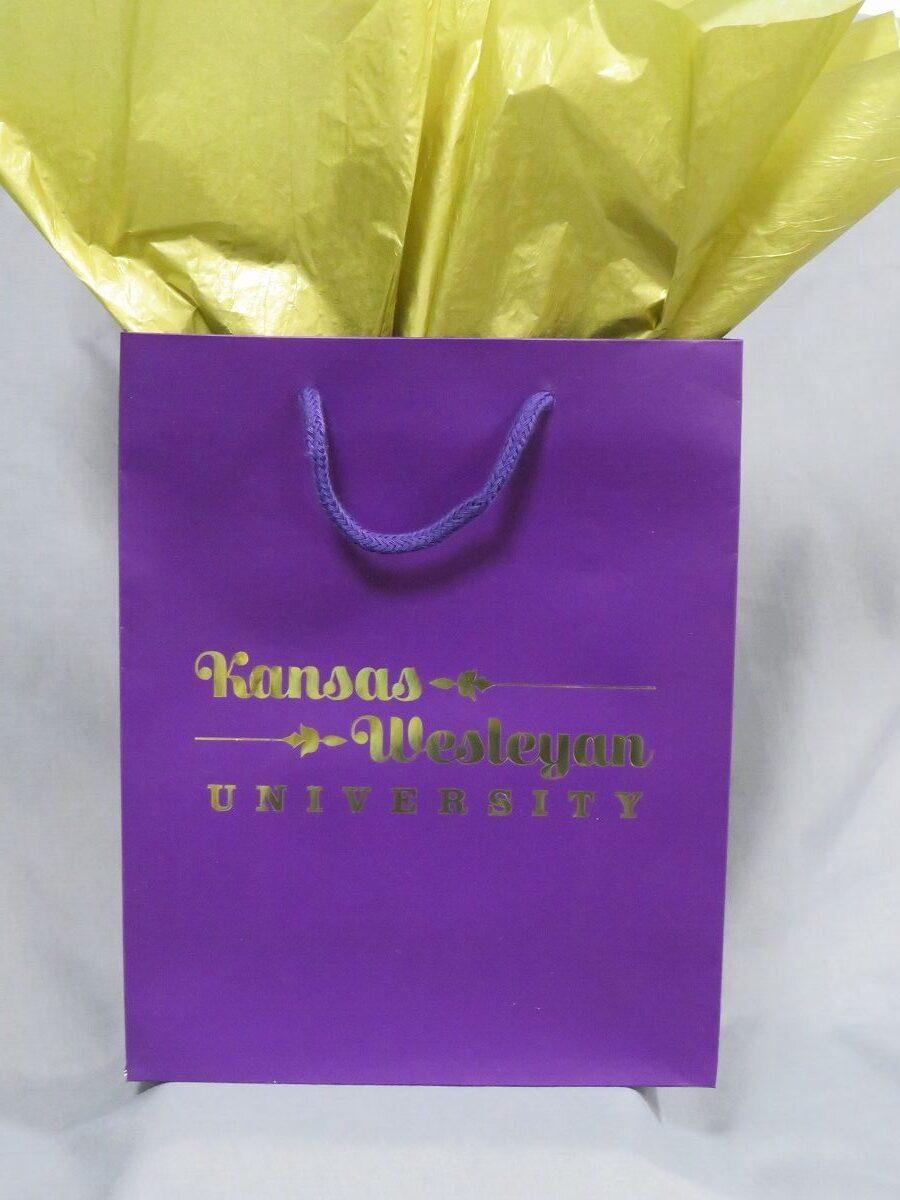 Kansas Wesleyan University Gift Bag