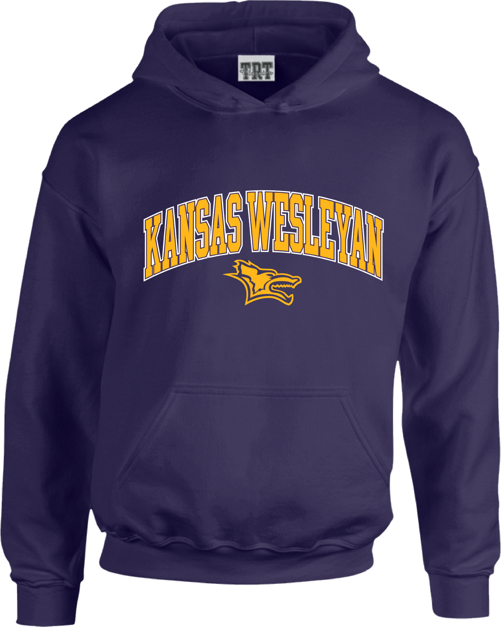 Kansas Wesleyan Purple Hood