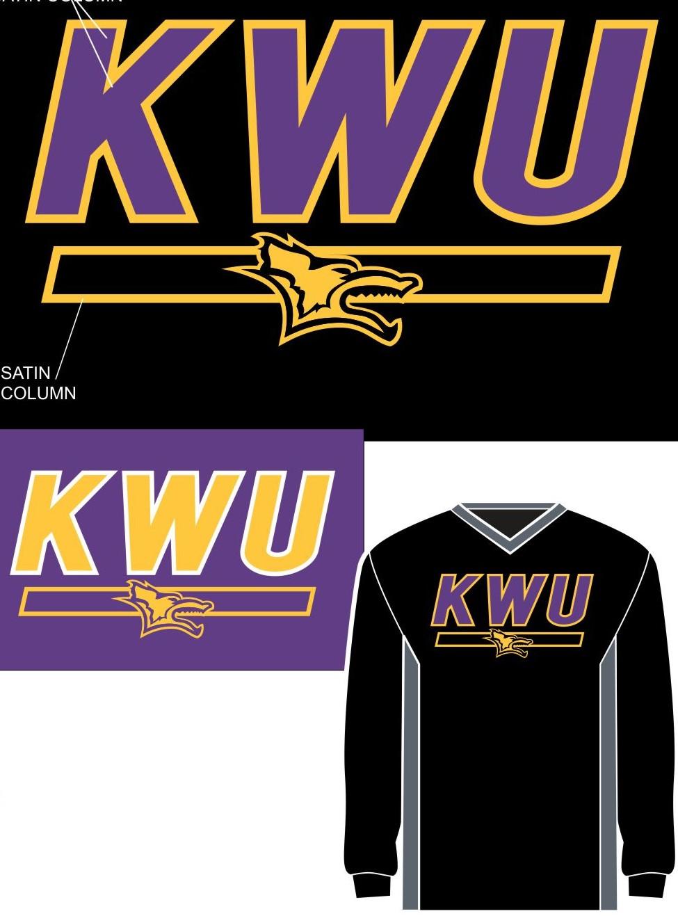 KWU Tipped Raglan Wind Shirt